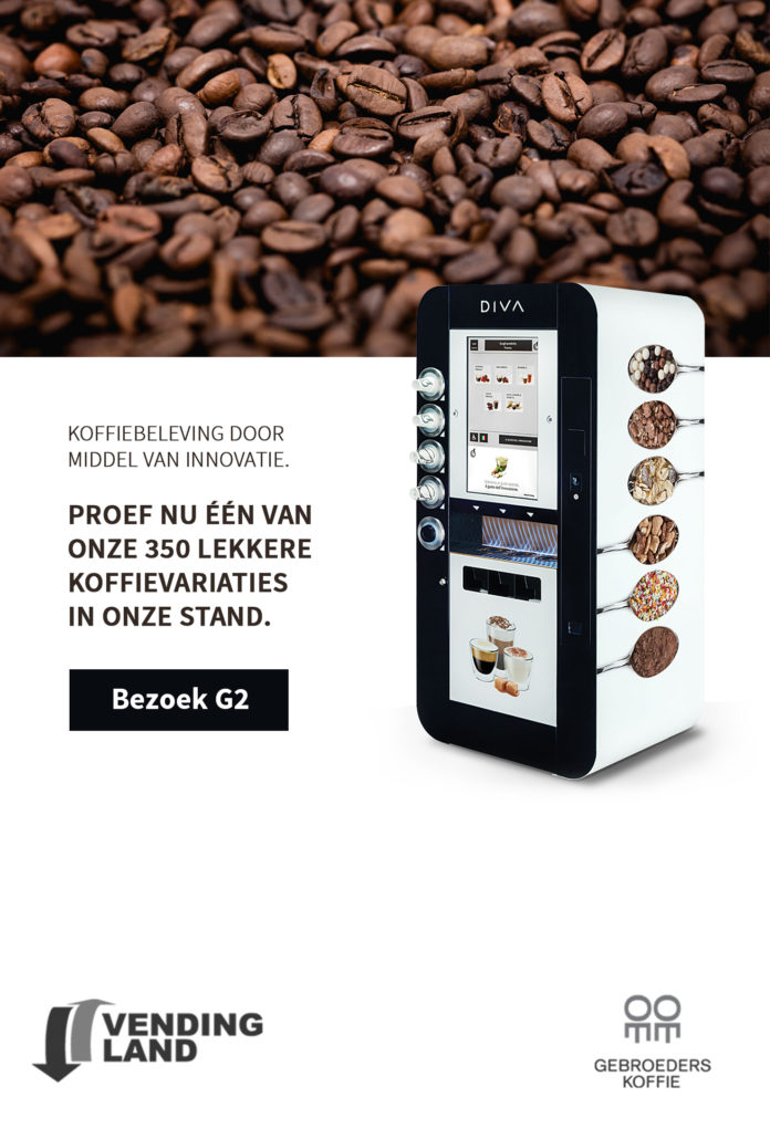 Bezoek Vendingland en Gebroeders Koffie op de Facilitair beurs te Utrecht